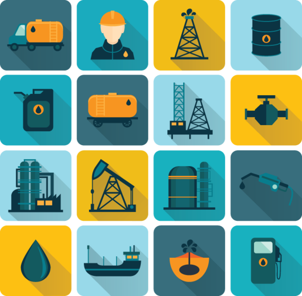 666 Oil (Energy) related Icons Oil industry, Icon