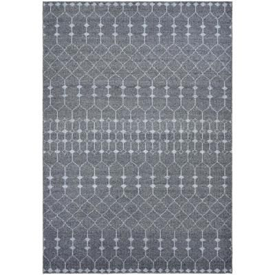 Couristan Casbah Aria Grey Pewter 8 Ft X 11 Ft Area Rug Area Rugs Rugs Couristan