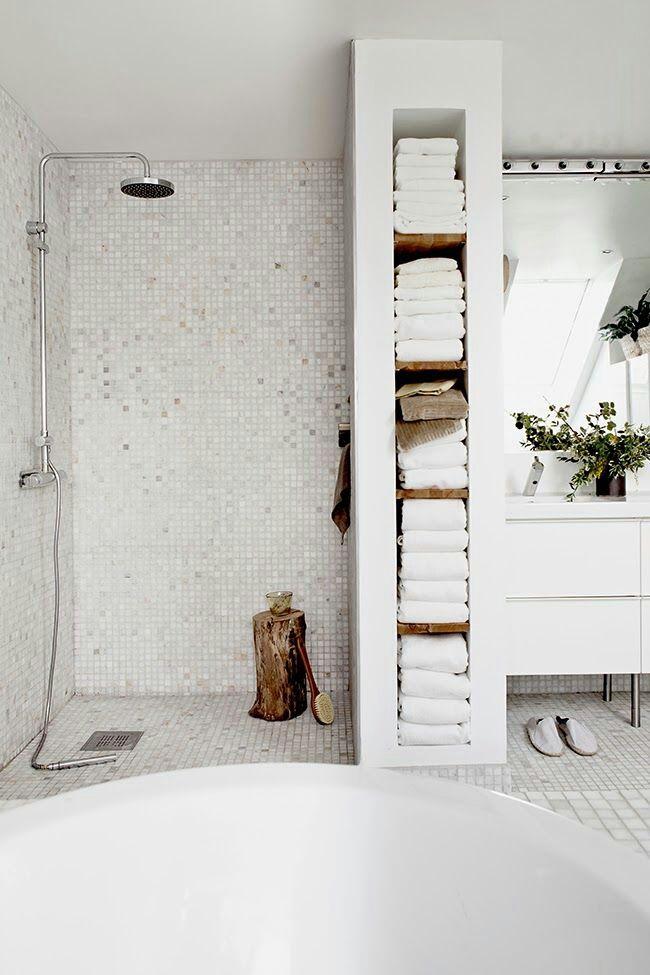 Badkamer idee | For My Future Home | Pinterest | Duschideen ...