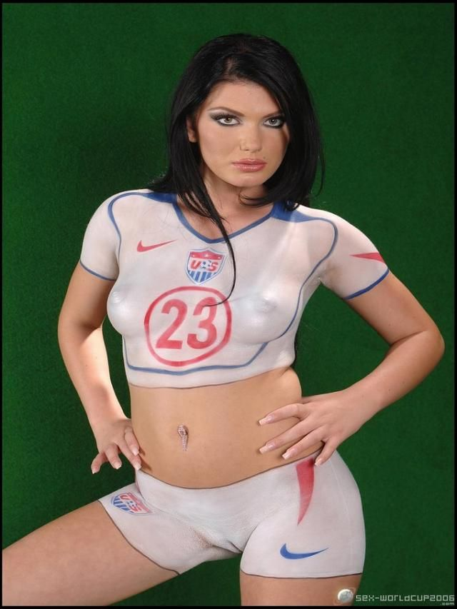 World Cup Body Art Collection 10 Wallpapers