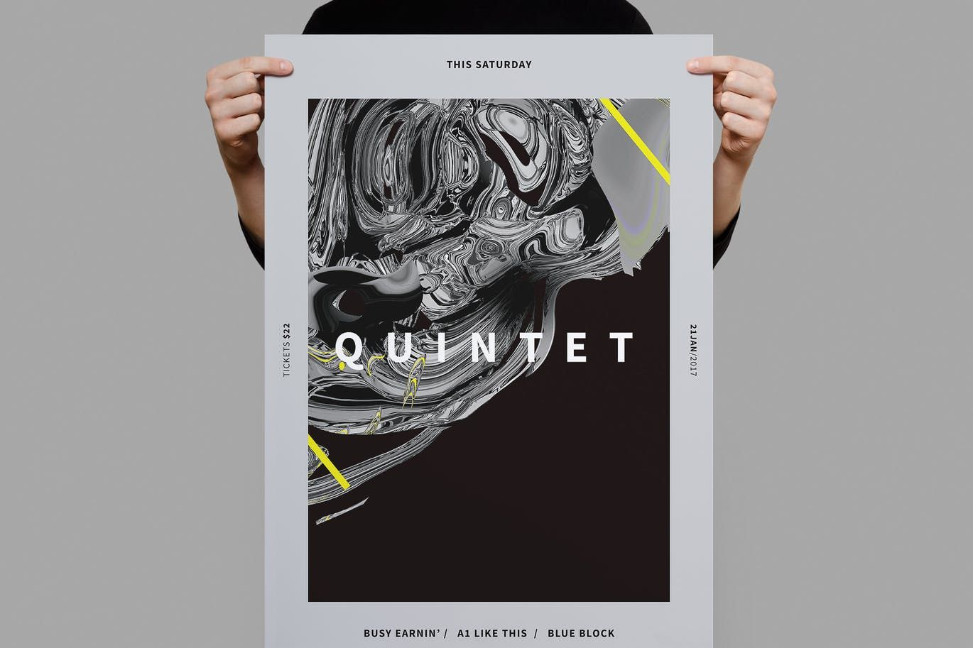 Quintent Poster  Flyer Template Psd  Poster Templates