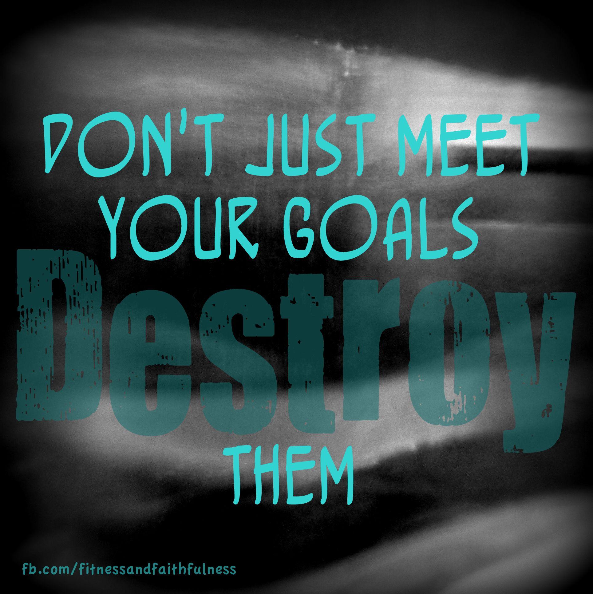 when you dont meet your goals