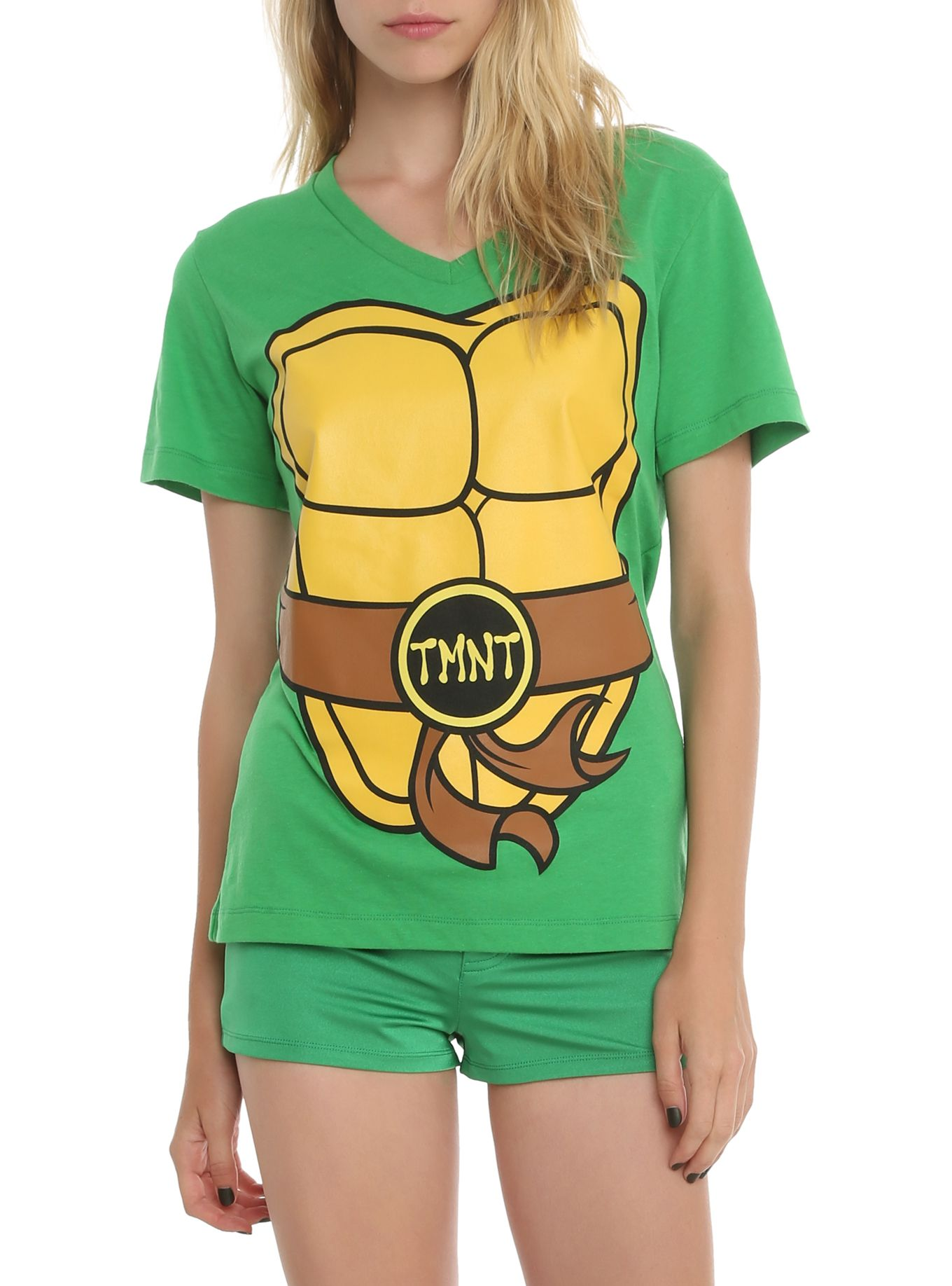21c69e07 Teenage Mutant Ninja Turtles Costume Girls T-Shirt | Halloween ...
