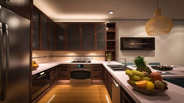 Contemporary Hawaiian Remodel In Place Caps Contemporary Kitchen Hawaii By Ventus Design Beautiful Kitchens Kitchen Redesign Home Remodeling
