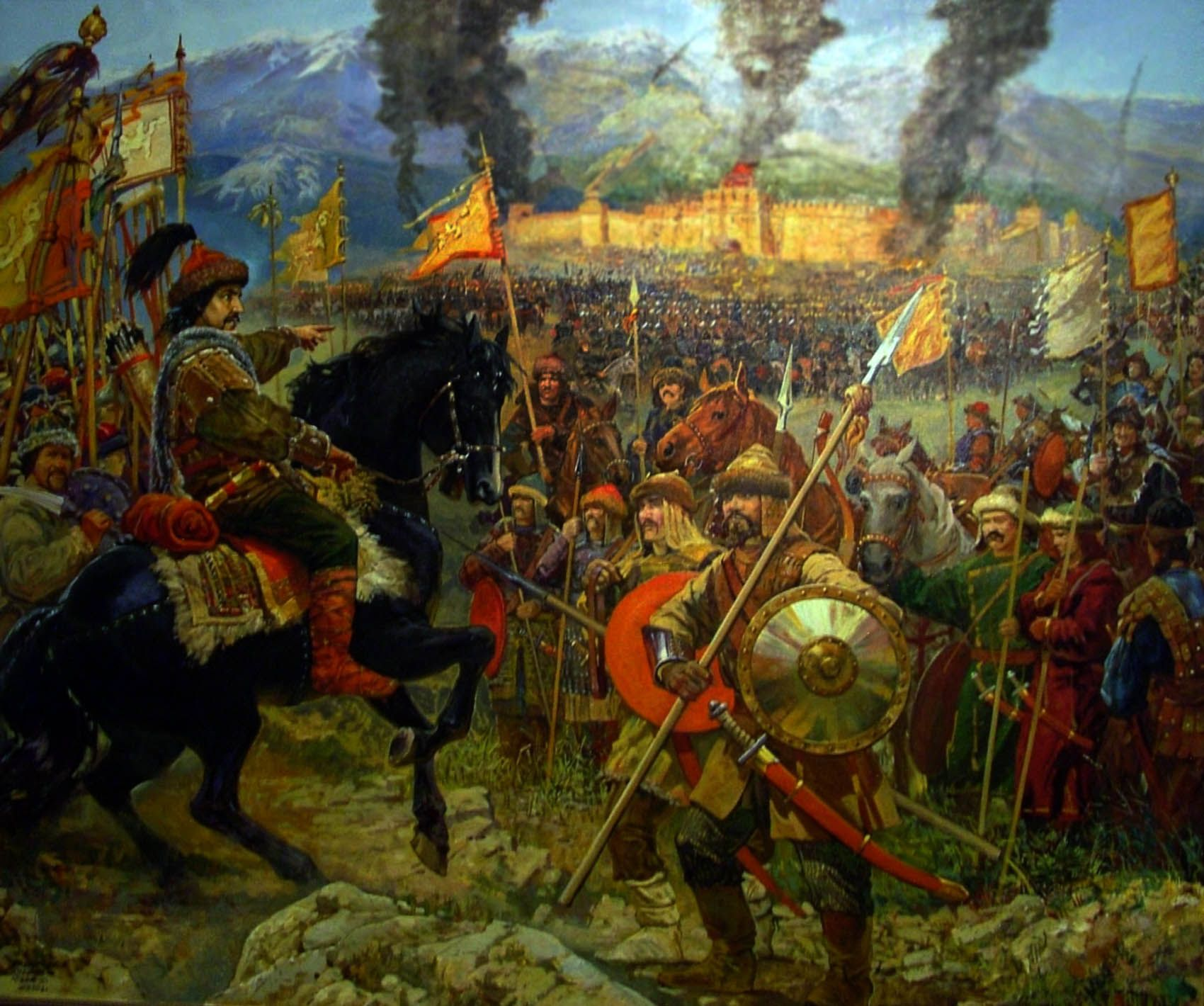 the turks and mongols The mongols and the mamluks in the thirteenth century still another threat to the muslim world appeared in the land beyond the oxus: the mongols led by genghis khan, a confederation of nomadic tribes which had already conquered china now attacked the muslims.