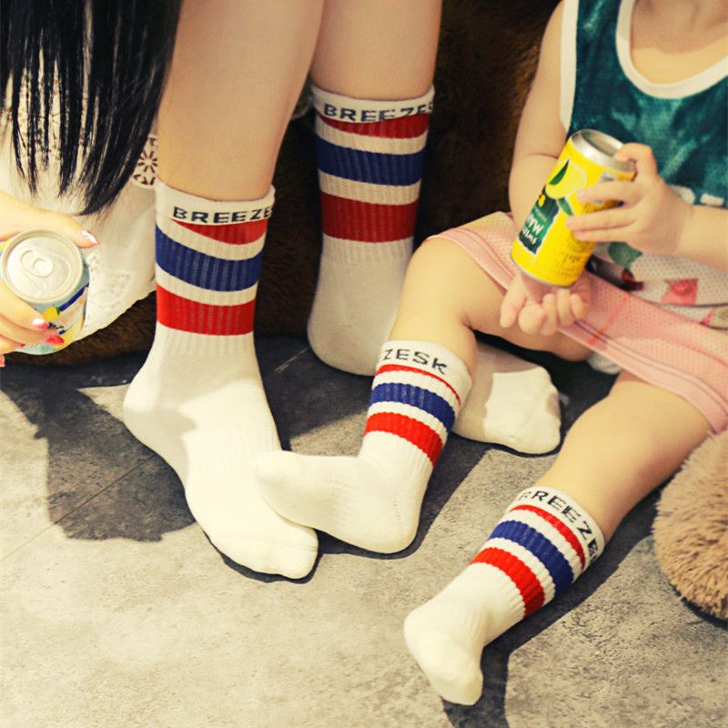 c892d9ab3 Find More Socks Information about Rainbow Kids Striped Socks Cotton Student  School Socks Winter Girls Boys