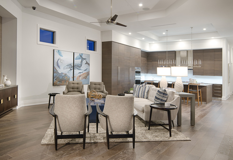 "Living room in Divco Custom Homes ""Antigua"" model in Miromar Lakes. Divco Homes | Naples, FL | Divcohomes.com"