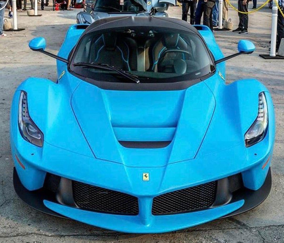 Ferrari LaFerrari light blue color Ferrari laferrari