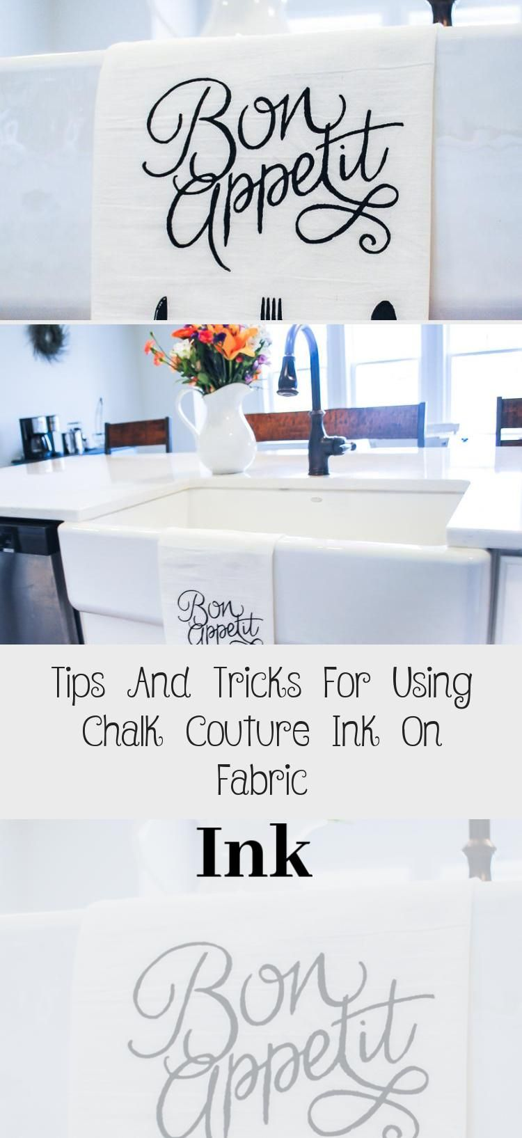 This video will explain exactly how to use Chalk Couture Ink on fabric!  Great tips and tricks!! #HomeDecorDIYVideosCheap #HomeDecorDIYVideosOnABudget #HomeDecorDIYVideosApartment #HomeDecorDIYVideosProjects #HomeDecorDIYVideosIdeas