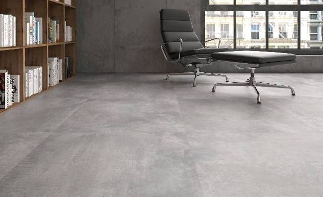 Afbeeldingsresultaat voor betonlook tegels binnen bijkeuken in