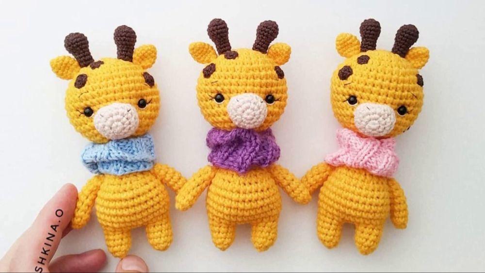Adorable Giraffe amigurumi pattern by Theresas Crochet Shop ... | 563x1000