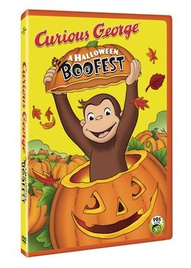 curious george a halloween boo fest this brand new first ever curious george halloween special airs monday october 28th on pbs kids but the dvd is