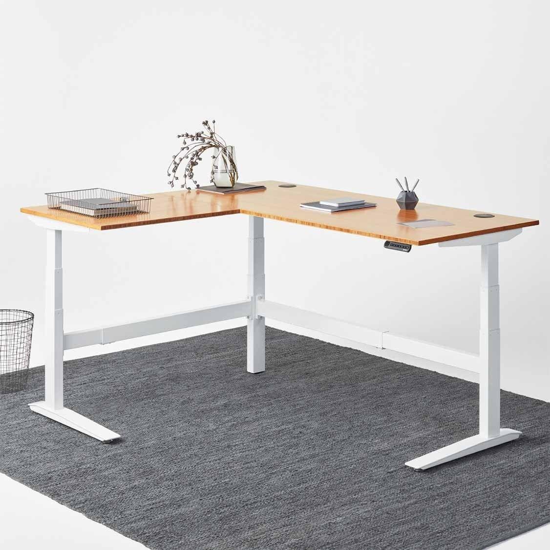 Jarvis L Shaped Standing Desk Best Standing Desk Adjustable Height Desk Ikea Standing Desk