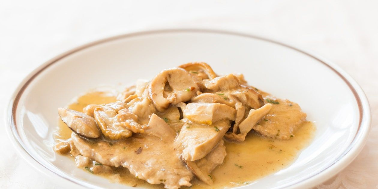 Photo of Veal Scallops with Creamy Mushroom Sauce