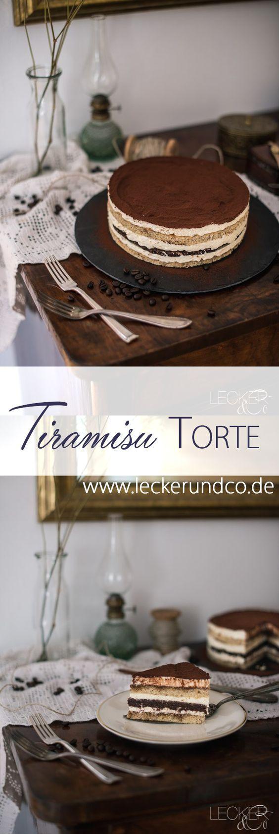 Pastel de tiramisú | LECKER & Co | Blog de comida de Nuremberg