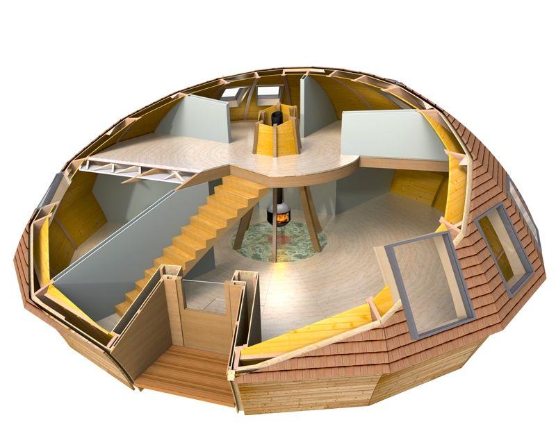 Casa domo prefabricada buscar con google hogar de - Busco casa prefabricada ...