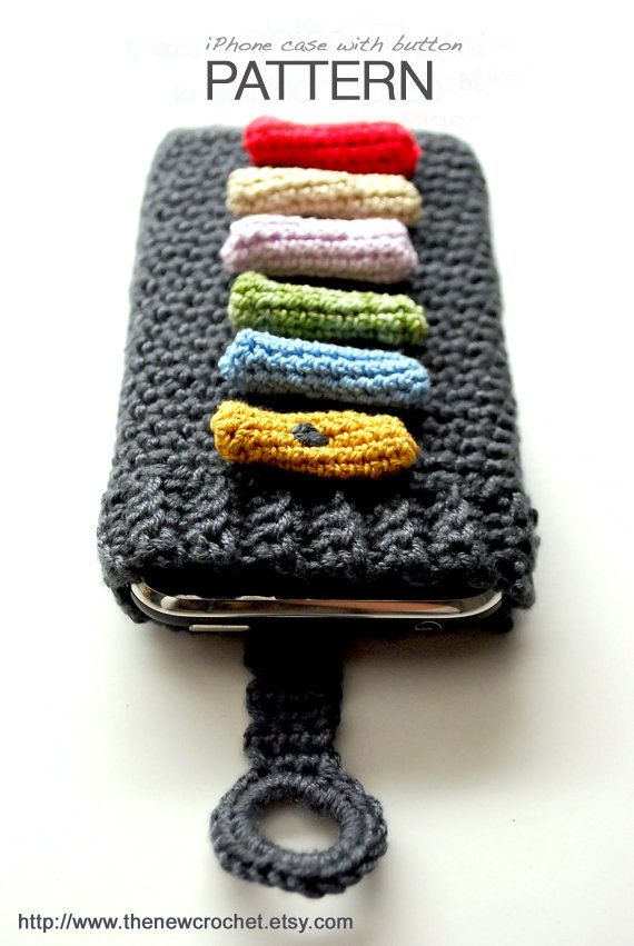 Instant Download Crochet Pattern Iphone Cover By Thenewcrochet