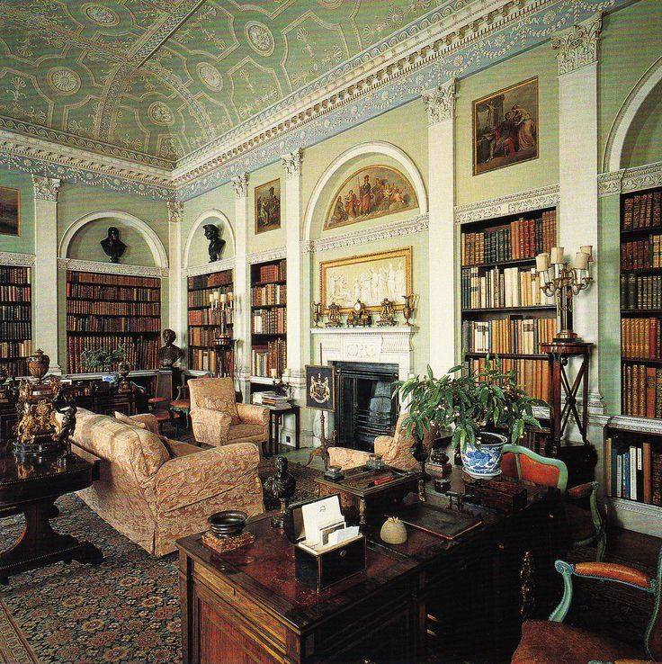 Adams Interieur Styling Harewood | Bibliothèque Classique - Classic Library