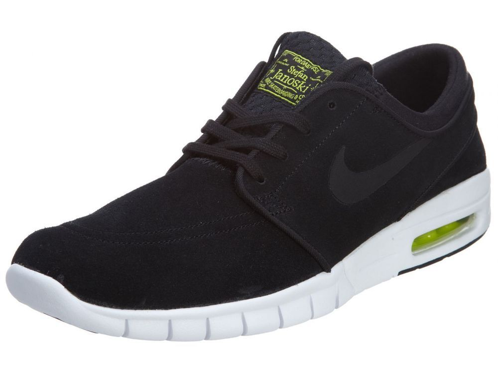 58e9b9725b Nike SB Stefan Janoski Max L Skateboarding Shoes Mens 11 Black Cyber 685299  003 #Nike #Skateboarding