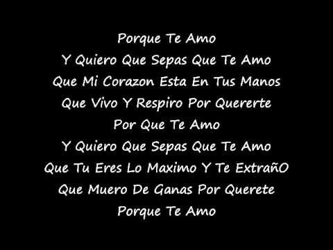 te amo la reunion nortena lyrics