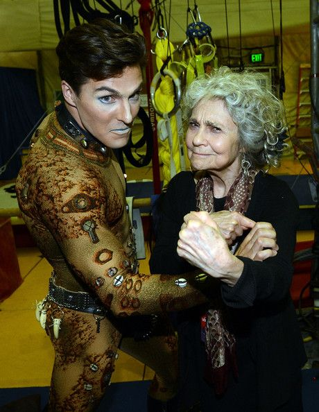 Lynn Cohen at Cirque du Soleil: Totem.