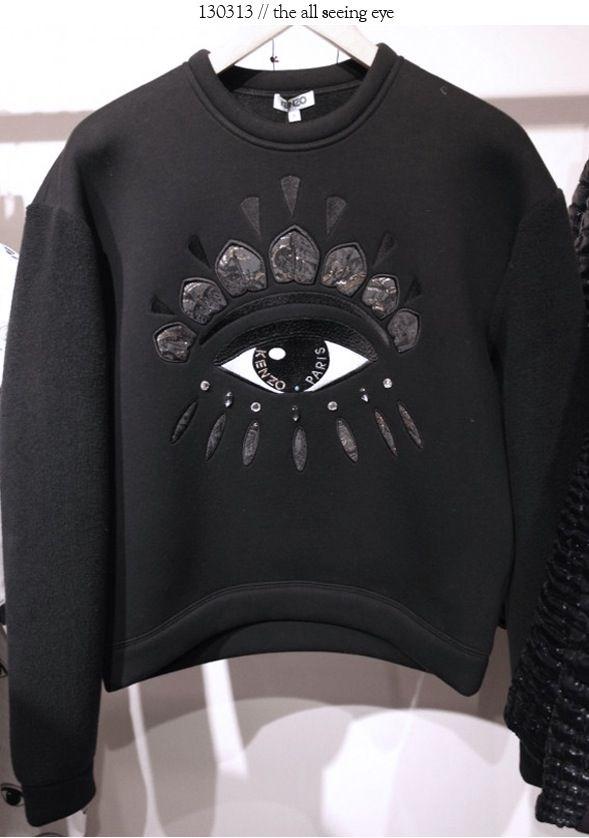 Kenzo eye sweater   ○ KENZO! ○   Kenzo, Fashion, Jumpers 6ac256c77dc