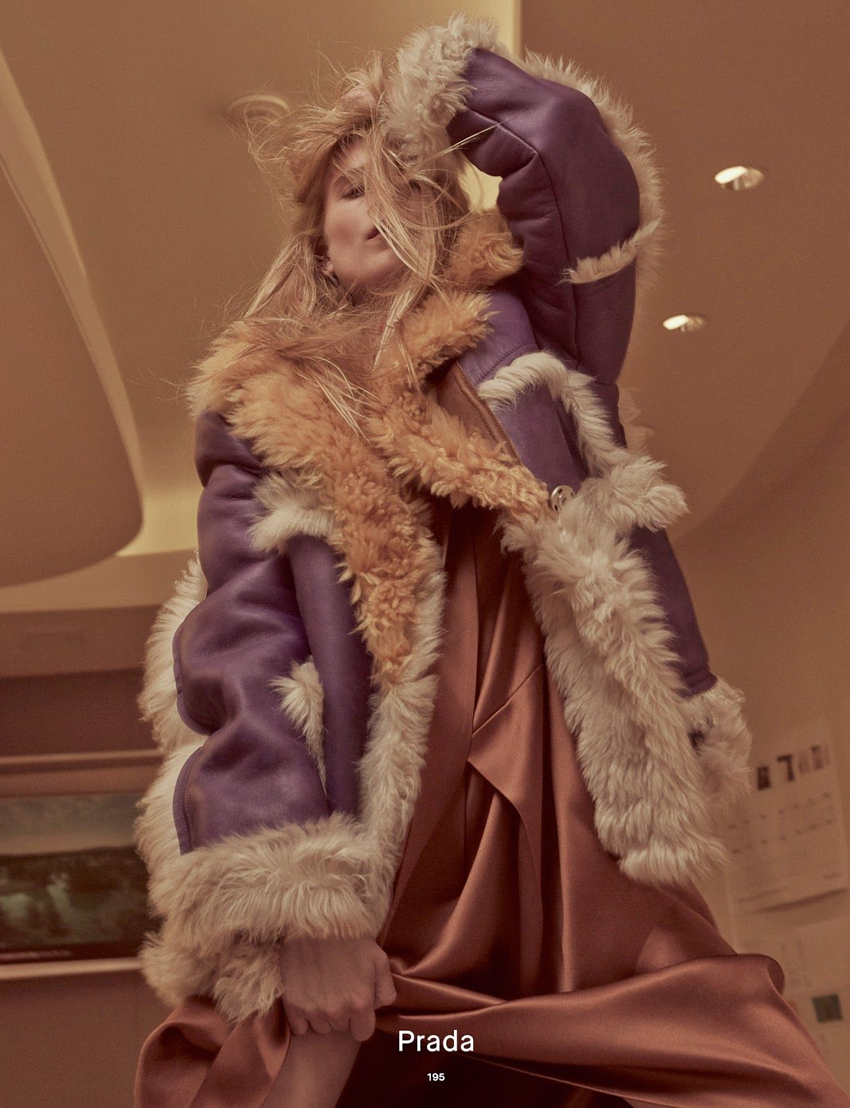 Collections IV: Dree Hemingway in PRADA Fall 2014 for Dazed Autumn 2014 by Charlotte Wales