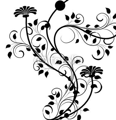 Papier peint arabesque floral antique - arrière-plan • PIXERS.fr   Dessin arabesque, Arabesque