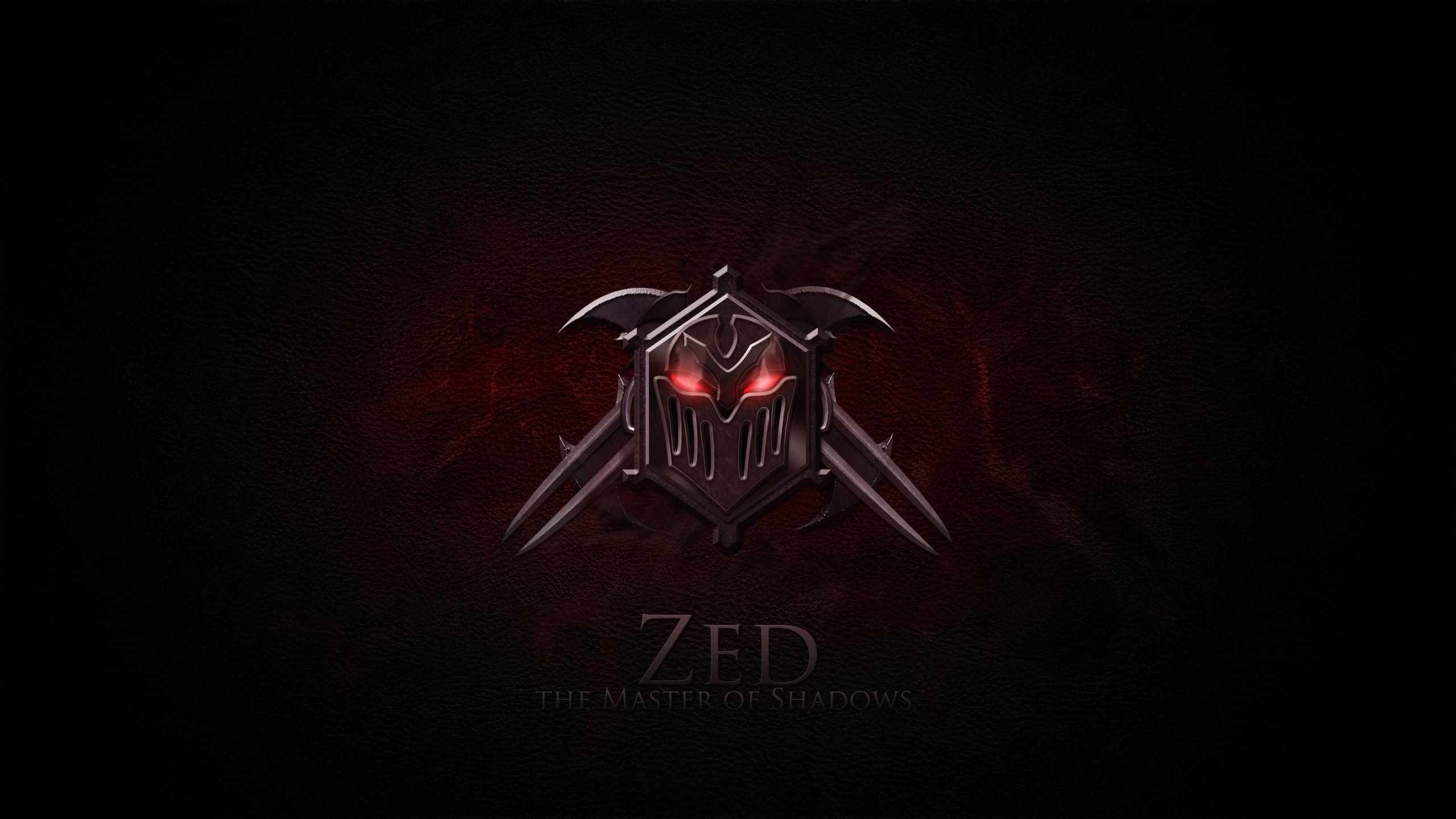 Zed League Of Legends Wallpapers HD 1920x1080 League Of