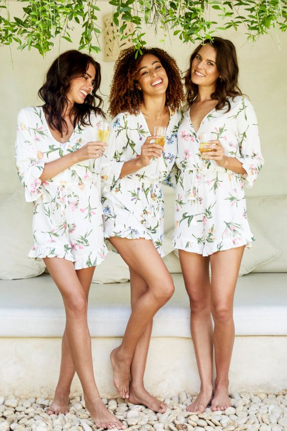 Five Getting Ready Outfit Alternatives to Robes – Lucille Photo. Harper  Bridesmaid Romper - Bridesmaid Gift Idea - Wild Flower PINK - Code  P149 58bba9933