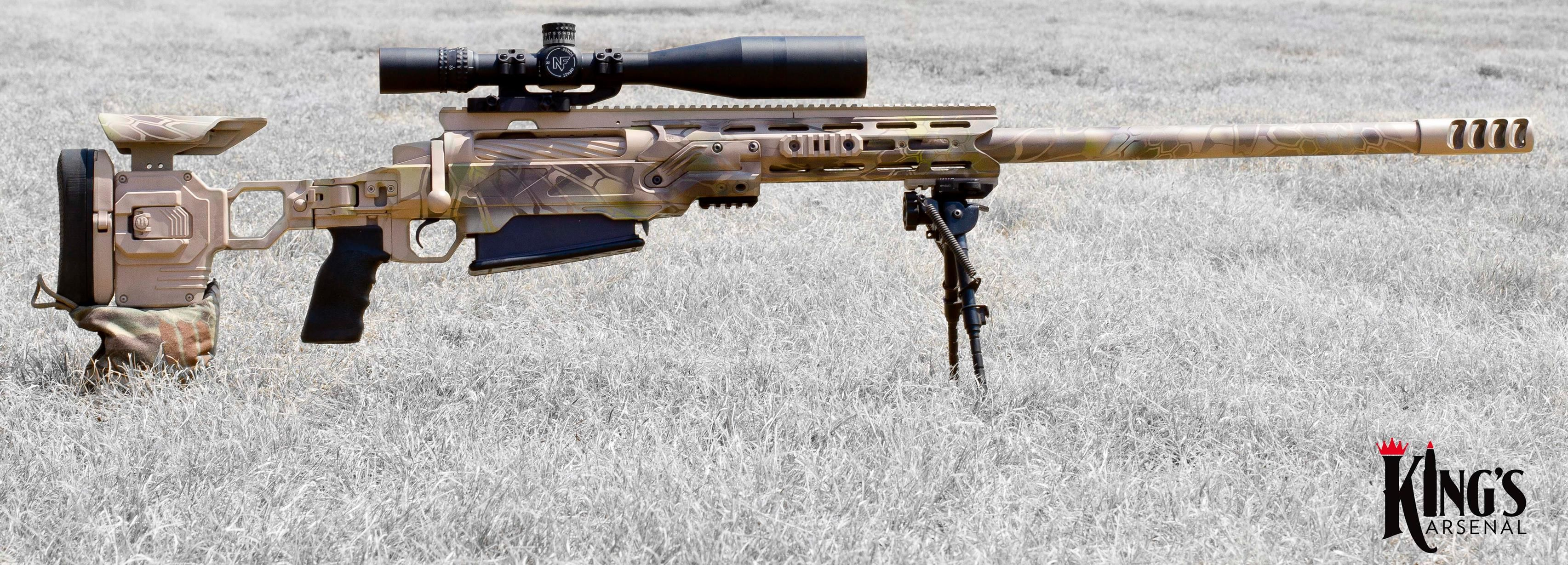 Kings Arsenal XKaliber 50 BMG in a Cadex Defense Chassis