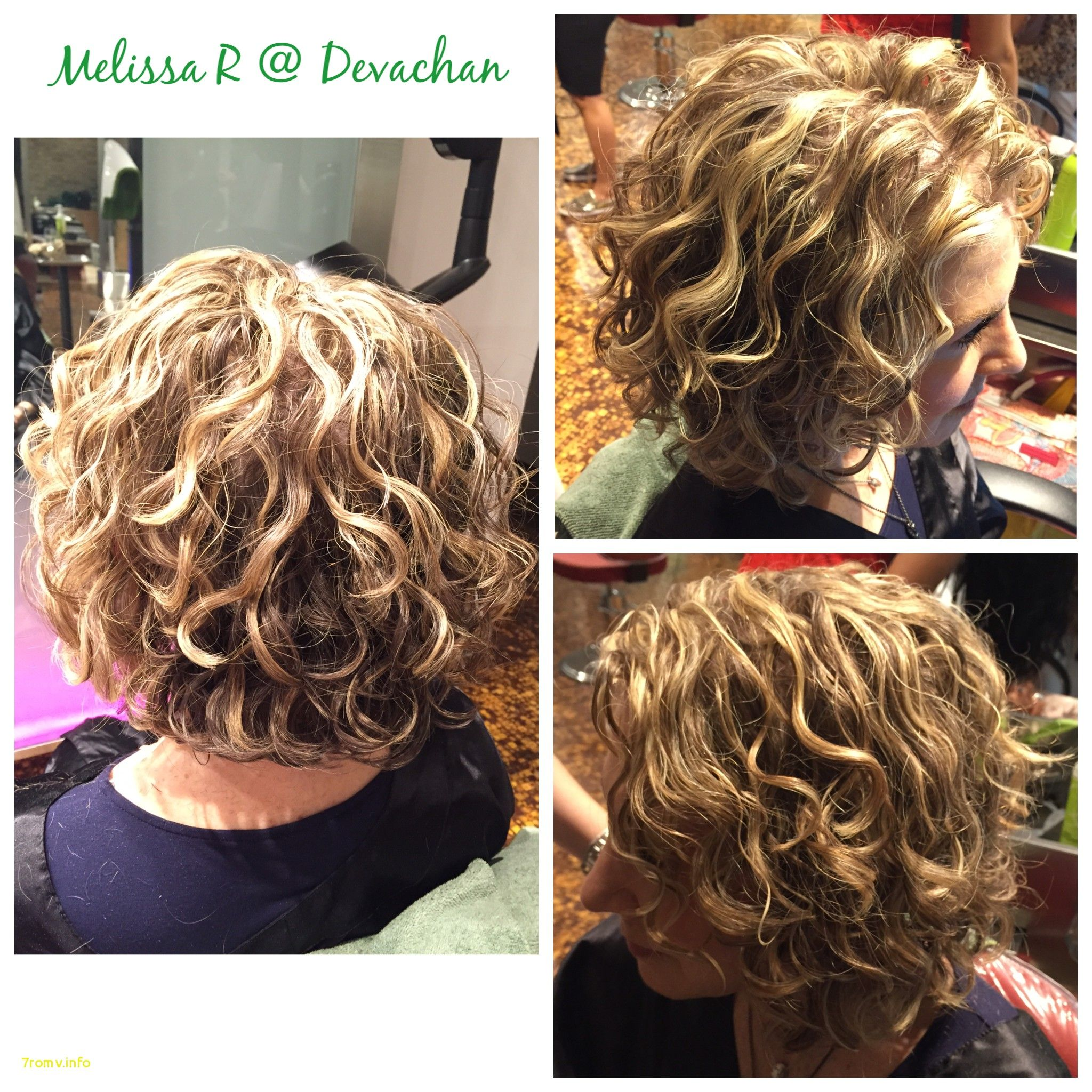 Stacked Spiral Perm On Short Hair Google Search Short Permed Hair Hair Styles Permed Hairstyles