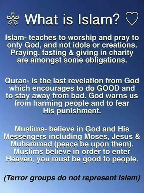 Pin by Ghuffy Zeesh on Deen | Islam facts, What is islam