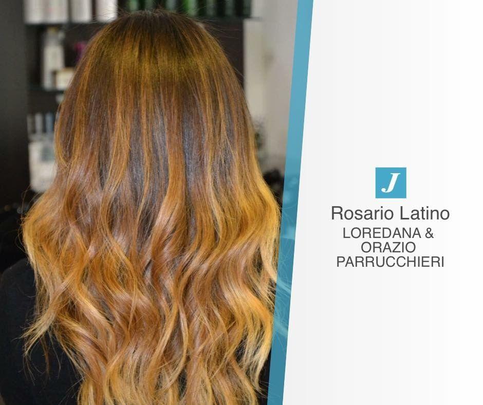 Rendi i tuoi capelli un spera d'arte mobile. Rendili unici amplificandone la bellezza con le mille sfumature di Degradé joelle  #cdj #loredanaeorazioparrucchieri #hairstylist #musthave #wellaprofessionals #longhair #shades #madeinitaly