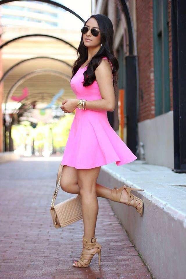 Rosa, fresco, verano! ❤ | Mi estilo ❤ | Pinterest | Verano ...