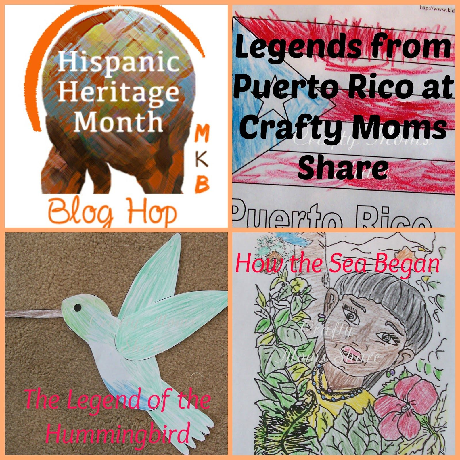 Legends From Puerto Rico From Crafty Mom S Share
