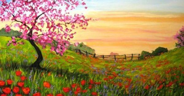 Resultado de imagen para hojas pinturas   wall painting ideas ...