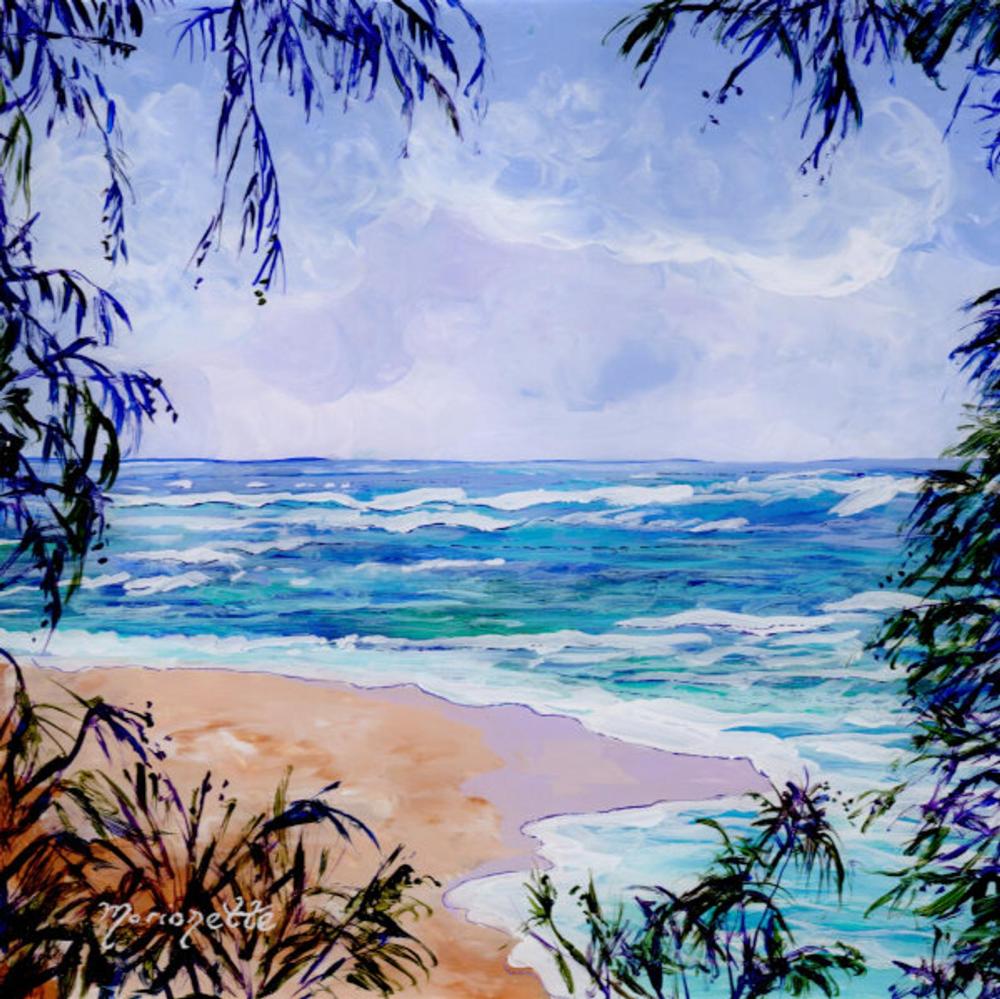 Hawaii Beach Art Ocean Print Hawaii Decor Hawaiian Wall Etsy Hawaiian Painting Beach Art Beach Art Hawaii