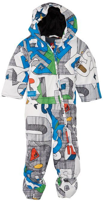 de3ed041f Amazon.com: Quiksilver Snow Baby-Boys Infant Little Rookie One Piece Suit:  Infant And Toddler Snowsuits: Clothing