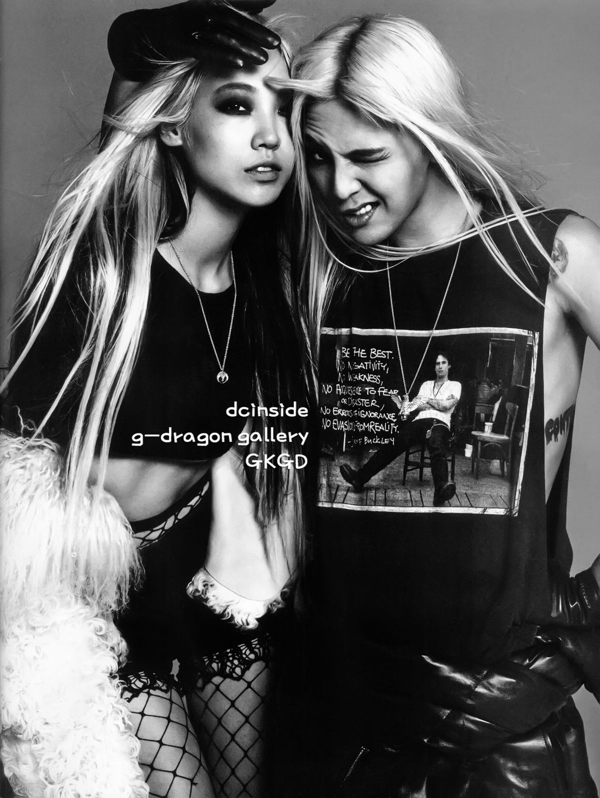 #Black #Twins G-Dragon's pictorial with Korean models Park Soojoo, Kim Sunghee and Park Jihye for Vogue Korea's 17th Anniversary Special Issue