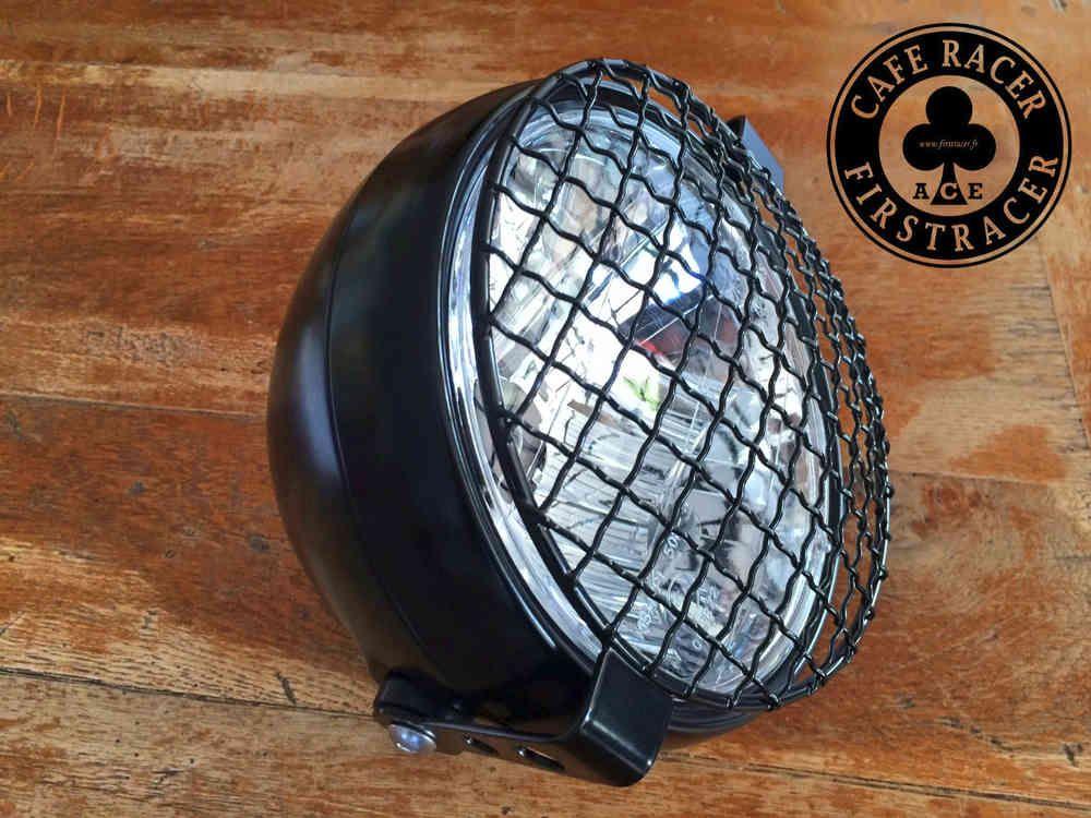Kit feu avant LSL 165 mm + Grille LSL noir - FIRSTRACER