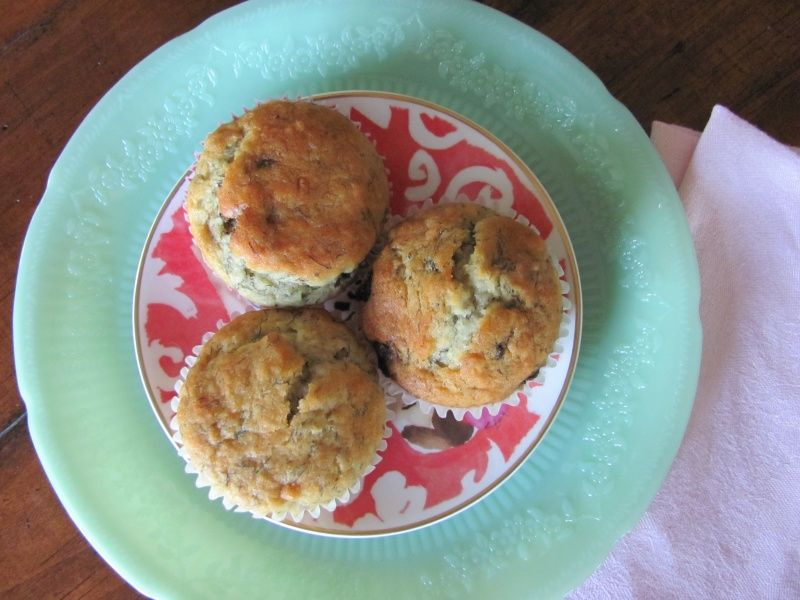 Banana Chocolate Chip Muffins   In Kate's Kitchen