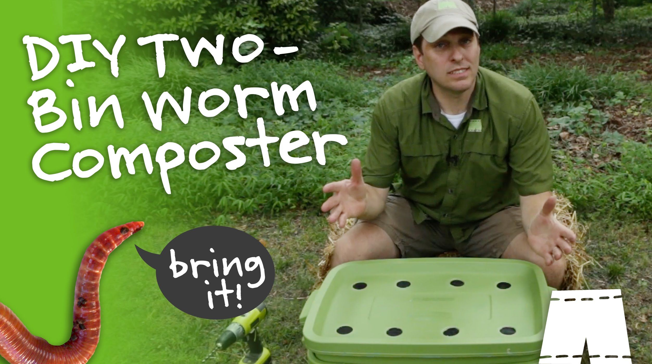 How to make a diy worm composting bin with images worm