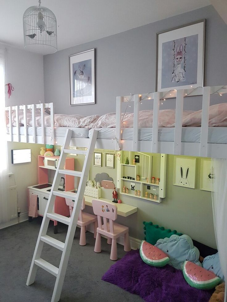 Ideas for the toddler's playroom. #childroom