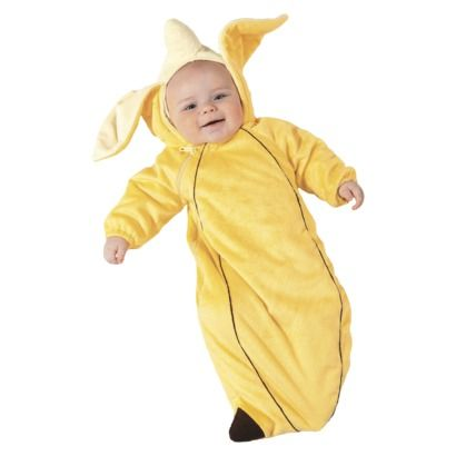 Go bananas with baby! Infant Banana Costume for 0-6 Months. #Halloween  sc 1 st  Pinterest & Go bananas with baby! Infant Banana Costume for 0-6 Months ...