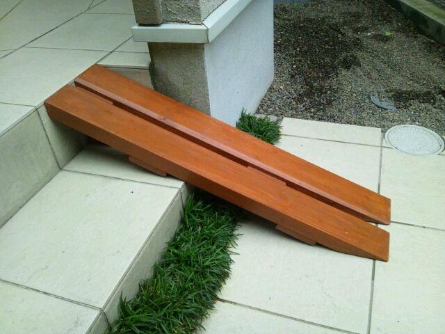 チャリンコ スロープと よかったね 庭 デザイン Diy 玄関