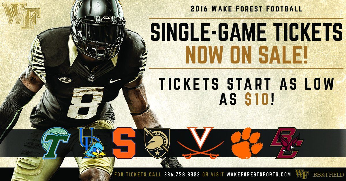 Wake Forest Sales and marketing, Wake forest football