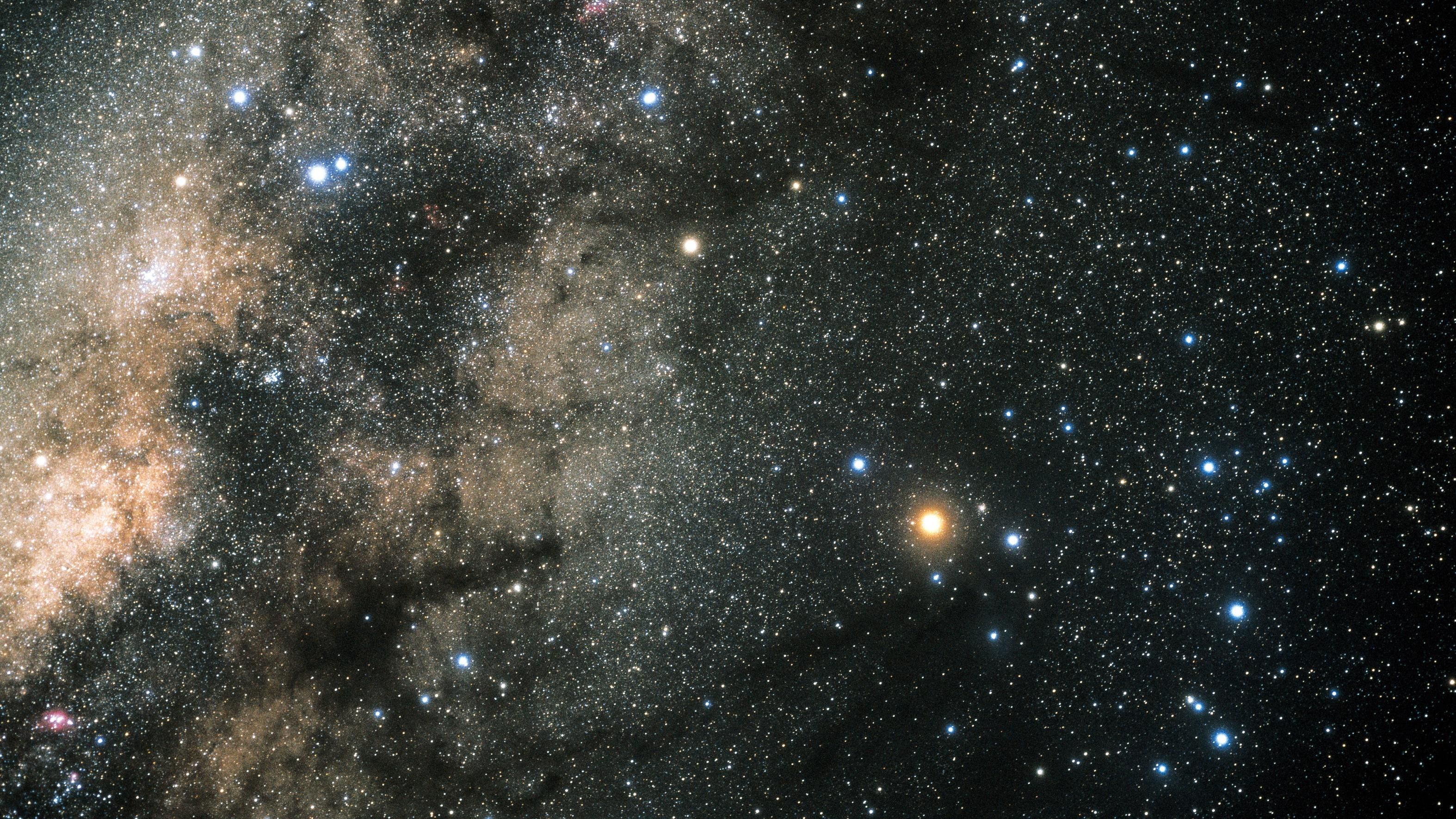 Star field of Constellation Scorpius Desktop Wallpaper