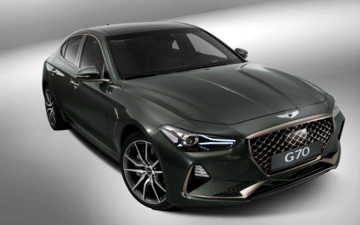 2019 Genesis G70 Hyundai Genesis Hyundai Studio