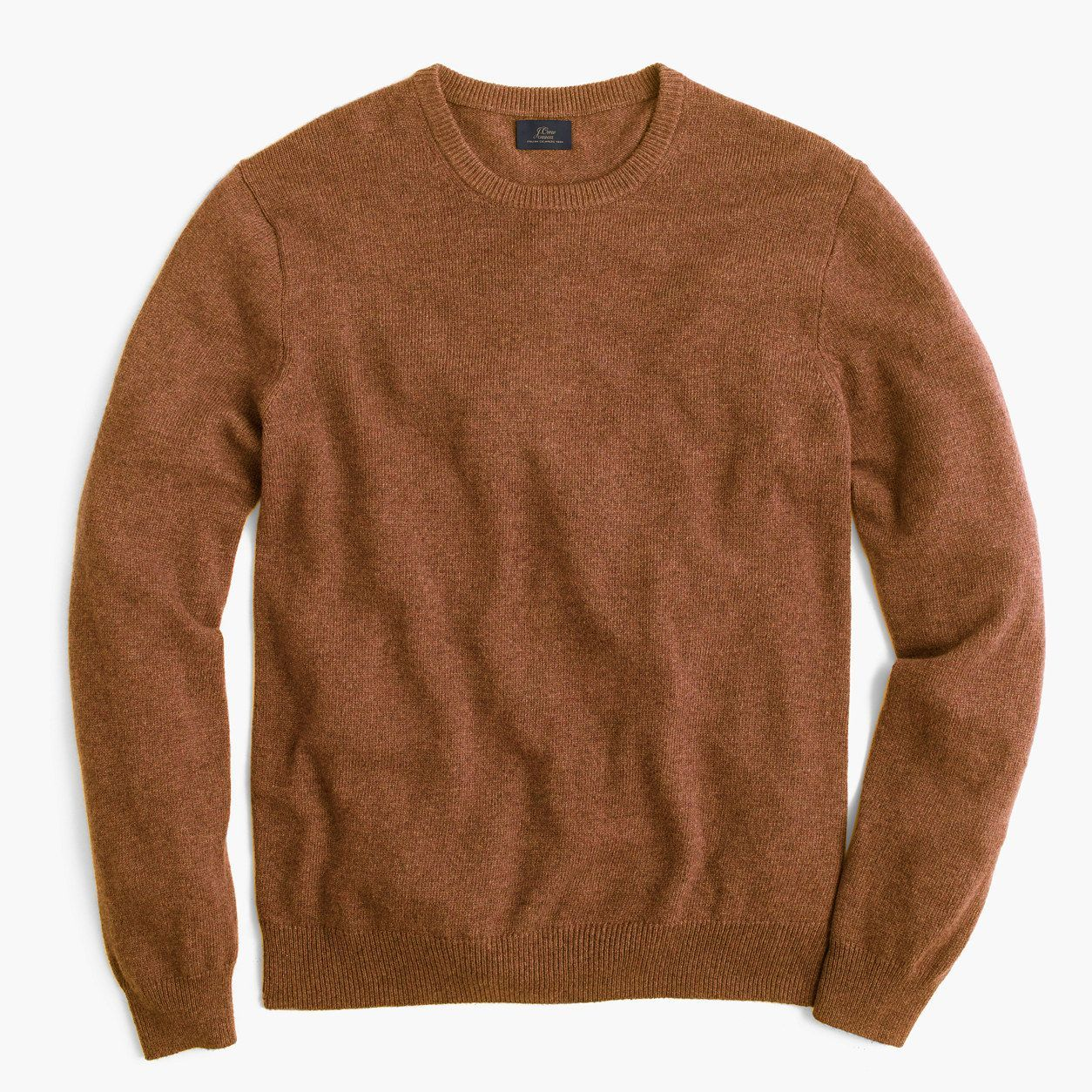 Jcrew Mens Tall Italian Cashmere Crewneck Sweater Size L Tall